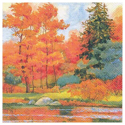"""Papierservietten """"Herbstwald"""", 33 x 33 cm, 20 Stück"""