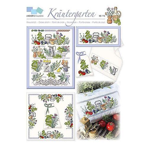 """Stickvorlage """"Kräutergarten"""""""