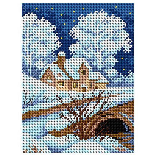 "Gobelin ""Winterlandschaft"", 18 x 24 cm"