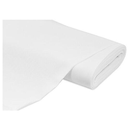 Handarbeitsstoff weiß, 11 Fäden/cm