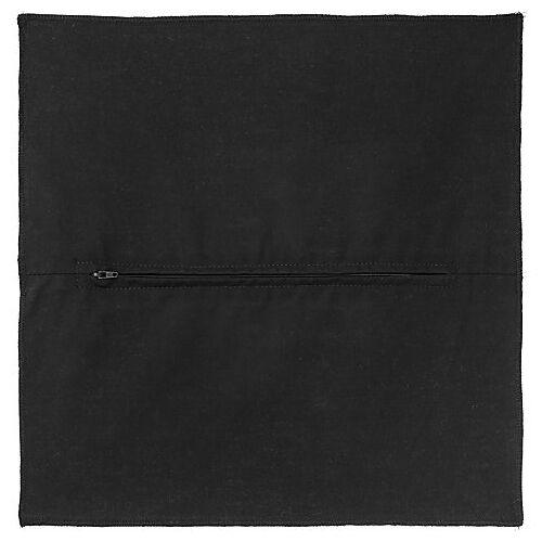 buttinette Kissenrücken schwarz, 45 x 45 cm