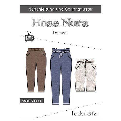 """Fadenkäfer Schnitt """"Hose Nora"""" für Damen"""