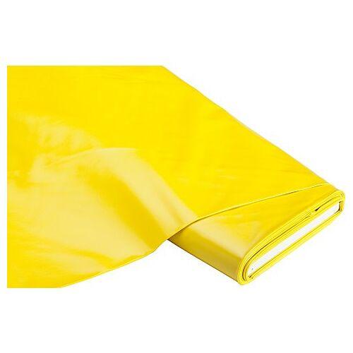 Abwaschbare Tischwäsche - Wachstuch Uni, gelb