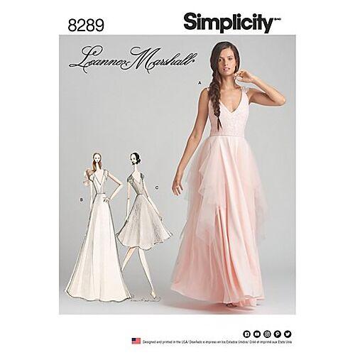 """Simplicity Schnitt 7961 """"Abendkleid oder Brautkleid"""""""