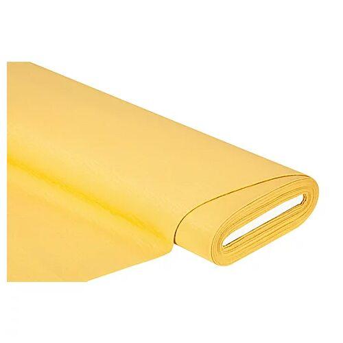 Dekostoff - Struktur-Piqué, gelb