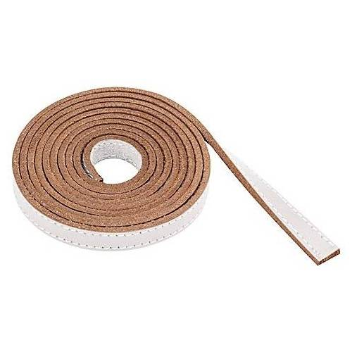 Lederband, weiß, 1,5 m