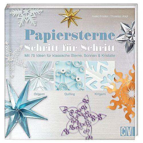 """Buch """"Papiersterne Schritt für Schritt"""""""