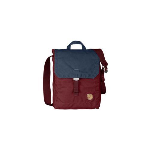 fjaell raeven Tasche Foldsack No 3 Ox Red Navy