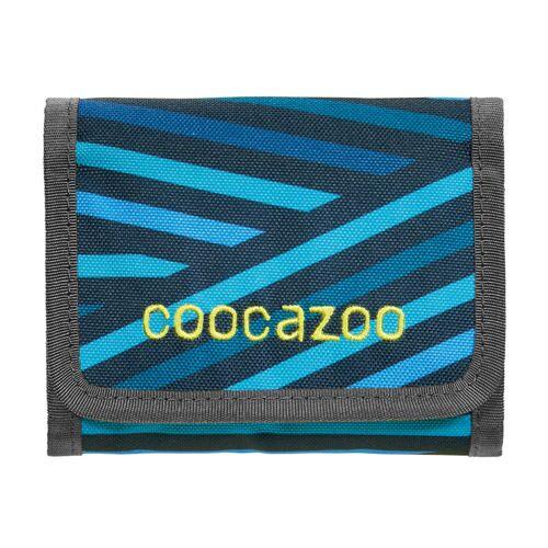 Coocazoo CashDash Geldbörse Zebra Stripe Blue