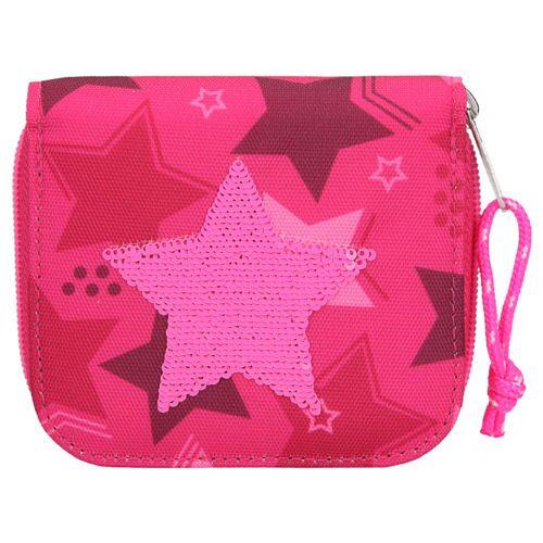 Lizenz TOPModel Geldbörse Wallet Pink Star