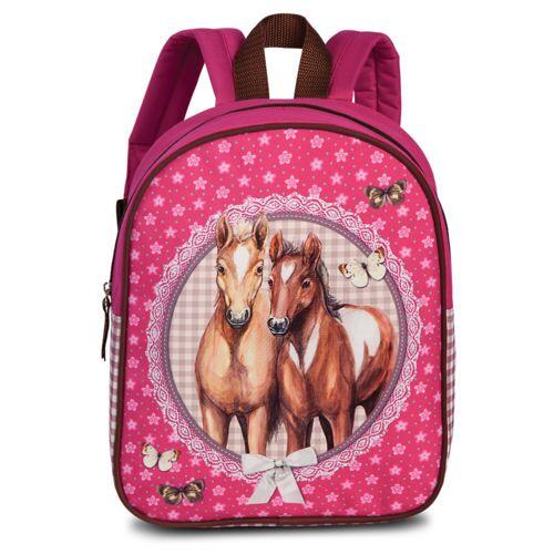 Lizenz Kinderrucksack Pferde