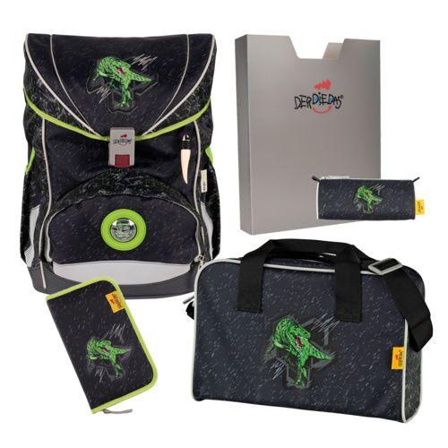 DerDieDas ErgoFlex Schulrucksack Set 5-teilig Rex