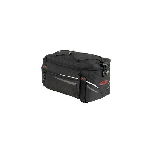 NORCO Idaho Gepäckträgertasche mit Klettbefestigung Schwarz