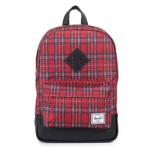 Herschel Rucksack Heritage Kids Red Plaid 741