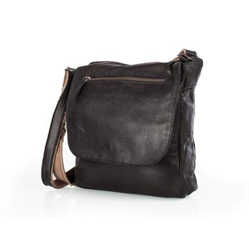Rada Nature Leawood Zip Bag #B1152 Black