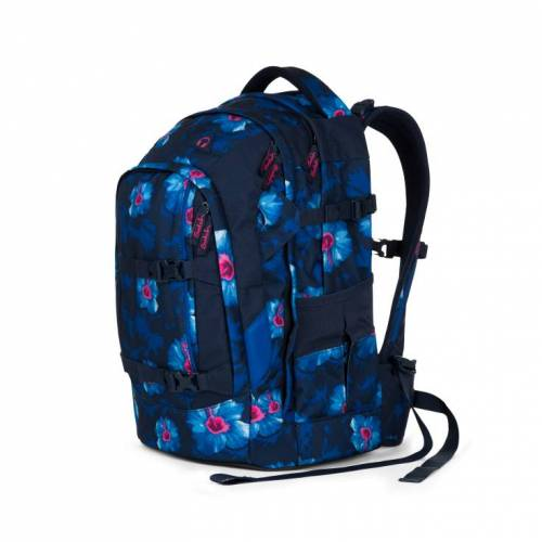 Satch Pack Schulrucksack Waikiki Blue #Sat-Sin-002-9L2