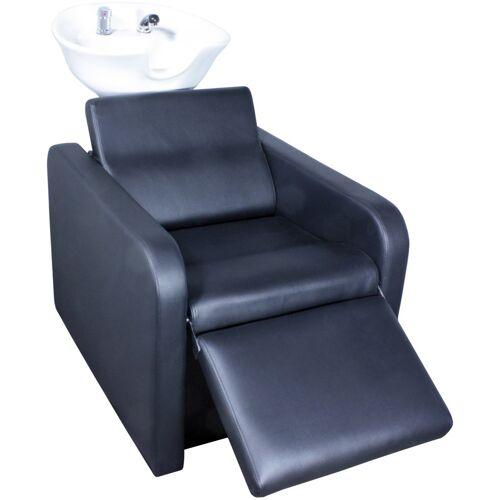 FIGARO 1974 RŸWa GROSSETO Sockel: wei§, Sitz: schwarz, Becken: wei§, 11cm