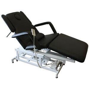 FIGARO 1600 elektrische Behandlungsliege 3-teilig schwarz