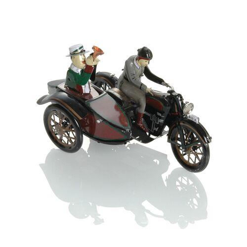 Booster Metall Motorrad mit Beiwagen 2