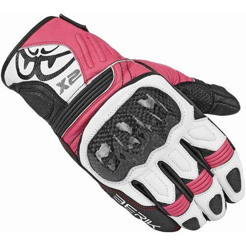 Berik LDX Damen Handschuhe Schwarz Pink XL
