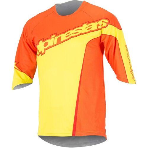 Alpinestars Crest 3/4 Fahrradshirt Gelb S