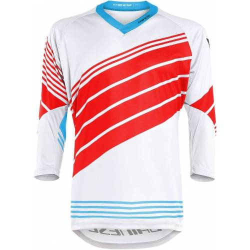 Dainese HG 2 Fahrrad Jersey Weiss Rot L