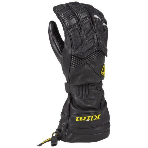 Klim Elite Schneemobil Handschuhe Schwarz XL