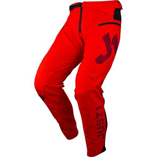Just1 J-Flex Fahrradhose Rot 30