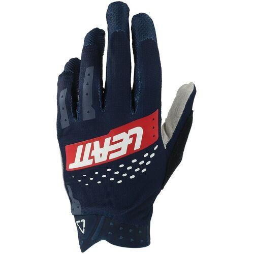 Leatt MTB 2.0 X-Flow Fahrrad Handschuhe Rot Blau S