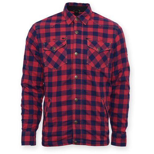 Bores Lumberjack Shirt Rot Blau 5XL
