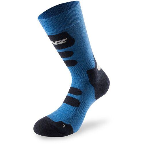 Lenz Trekking 8.0 Socken Blau 39 40 41
