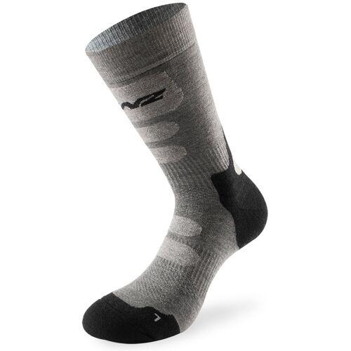 Lenz Trekking 8.0 Socken Grau 35 36 37 38