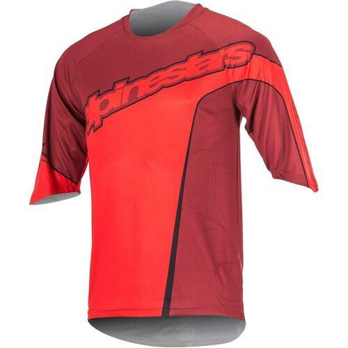 Alpinestars Crest 3/4 Fahrradshirt Rot XL