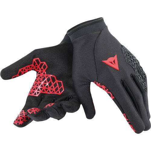 Dainese Tactic Fahrradhandschuhe Schwarz Rot 2XS