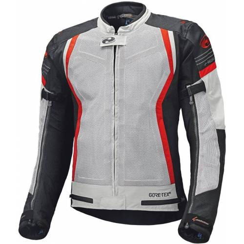 Held AeroSec GTX Top Jacke Grau Rot 2XL