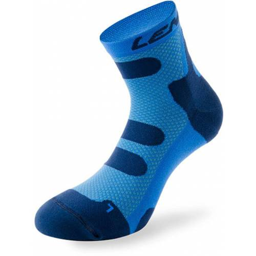 Lenz Compression 4.0 Low Socken Blau 42 43 44