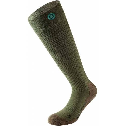 Lenz 4.0 beheizbare Socken Grün 35 36 37 38