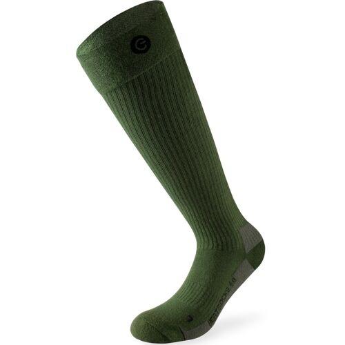 Lenz 4.0 Beheizbare Socken Grün 39 40 41