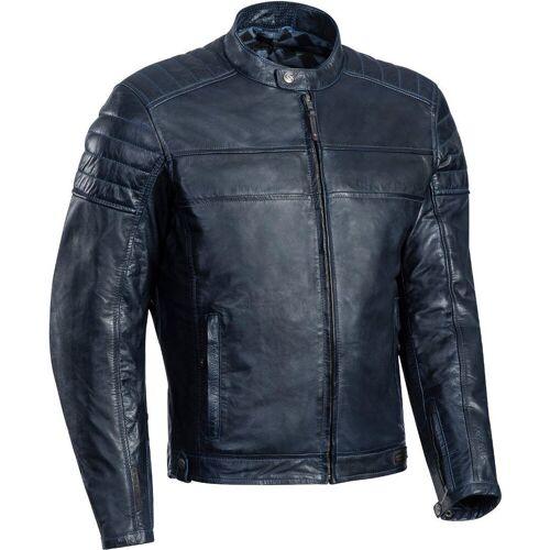 Ixon Spark Motorrad Lederjacke Blau L