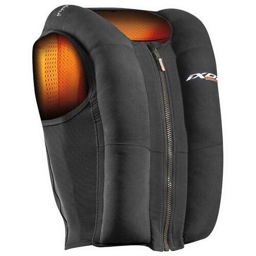 Ixon IX-Airbag U03 Airbag Weste Schwarz Orange XS