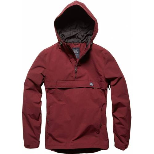 Vintage Industries Shooter Anorak Rot XL