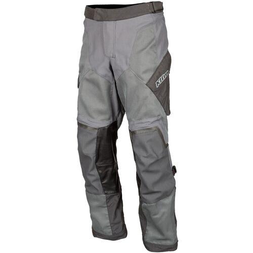 Klim Baja S4 Motorrad Textilhose Grau 32