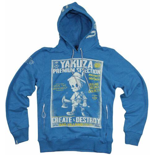 Yakuza Premium YPH 2825 Sweatshirt Blau 2XL