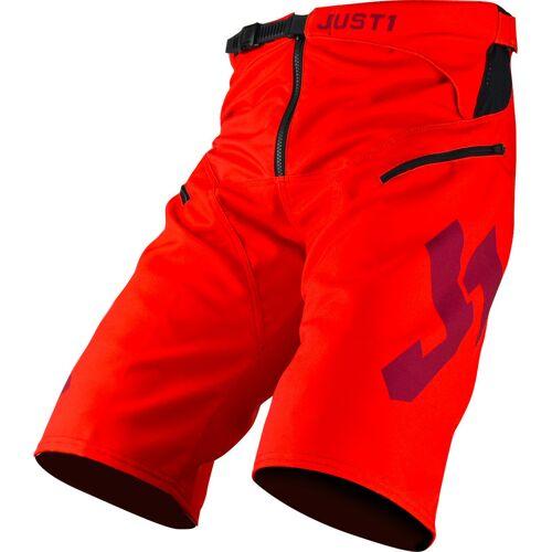 Just1 J-Flex Fahrradshorts Rot 32