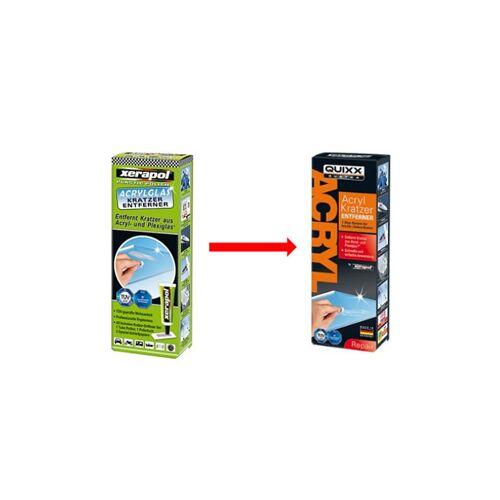QUIXX Acrylglas-Kratzer-Entferner-Set