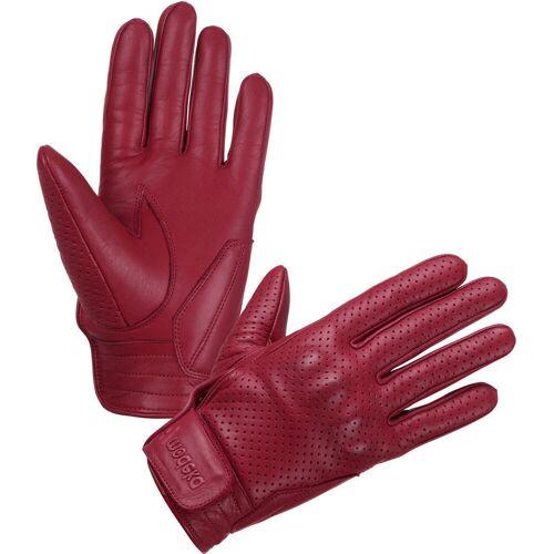 Modeka Hot Classic Handschuhe Rot M L