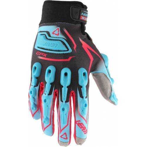 Leatt GPX 5.5 Lite Handschuhe Rot Blau XS
