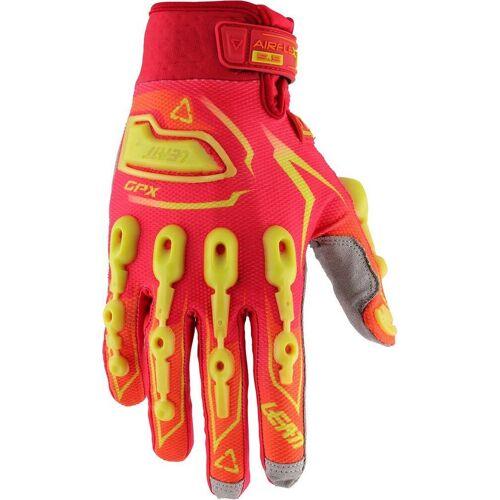 Leatt GPX 5.5 Lite Handschuhe Rot Gelb S