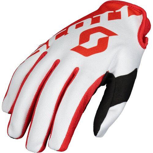 Scott 250 Handschuhe Weiss Rot 2XL