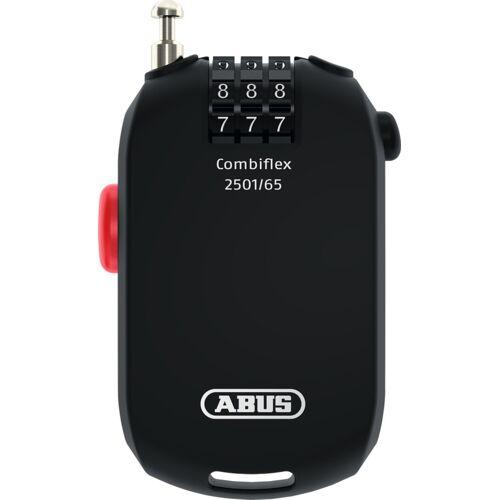 ABUS Combiflex Hosentaschen-Kabel Schwarz 65 cm